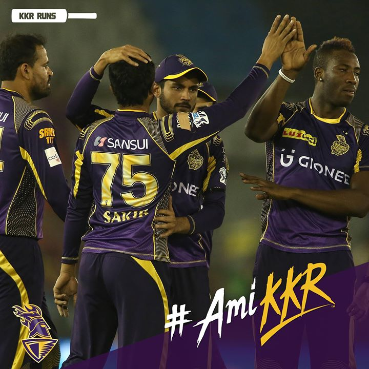 Well done Kolkata Knight Riders. Love you and will be with you soon. Muah!