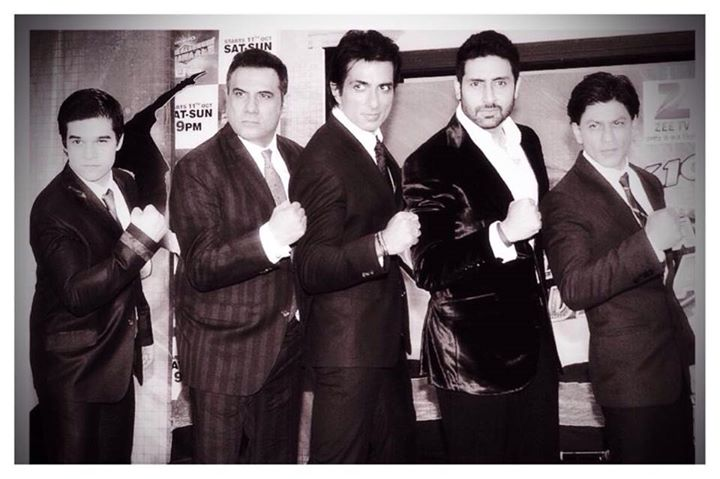 The Men in Black ready to fly again. As release of HNY draws nearer we all try & spend as much time together as we can.