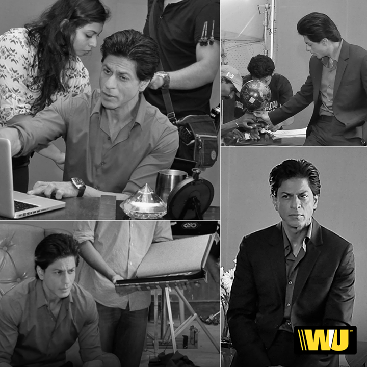 I had such a great time filming this TV spot for Western Union's online money transfer service, check it out! #WUplusSRK  https://www.youtube.com/watch?v=syMXHghsQLY