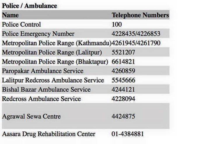 May Allah look after all. Here r the emergency contact numbers for Nepal, share, help. Prayers with all in Nepal.