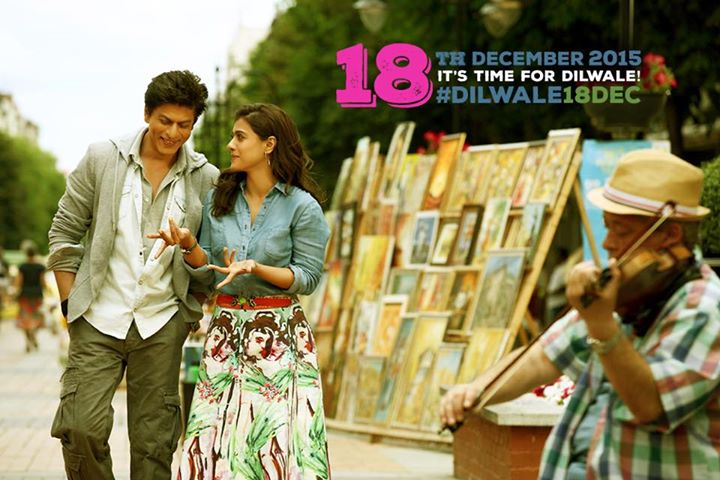 Get ready for #DILWALE this December, Rohit Shetty Ishtyle! #Dilwale18Dec   Red Chillies Entertainment