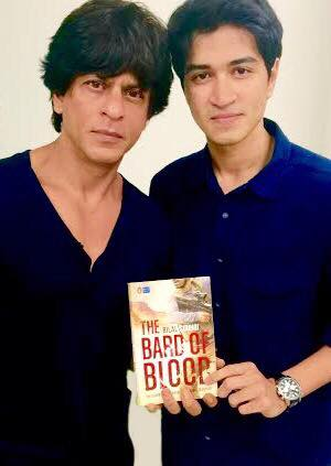 Congrats #BilalSiddiqi on your first book at 20, #TheBardOfBlood. It's awesome my boy.   http://amzn.to/1Iq2ue0