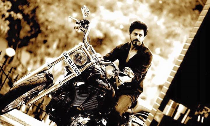 Rohit gets me a new set of wheels to ride to work everyday. Hawk. Beemer. Harley. We don't walk the talk on Dilwale sets!