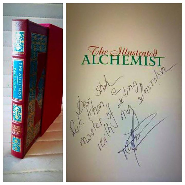 When you want something, all the universe conspires in helping you to achieve it. Thanks Paulo Coelho ! This is so special.