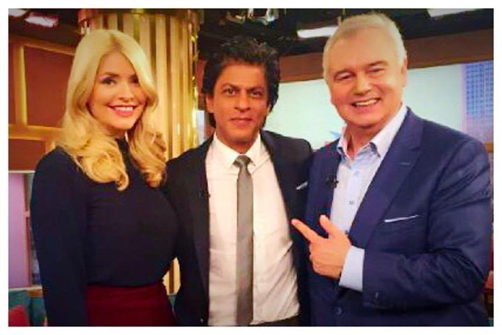 Shahrukh Khan,  ITVThisMorning,, HollyWills