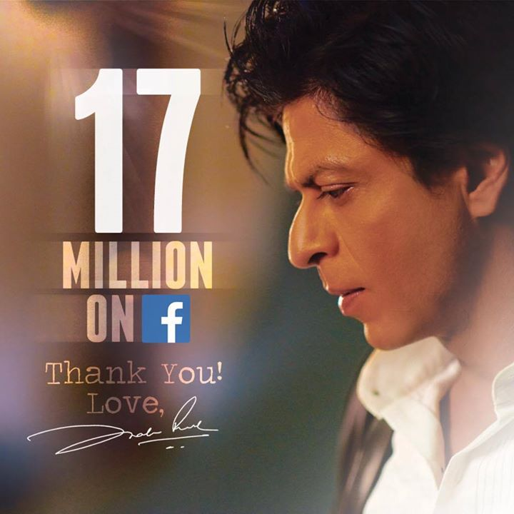 Thank you, 17 Million! Love you all...