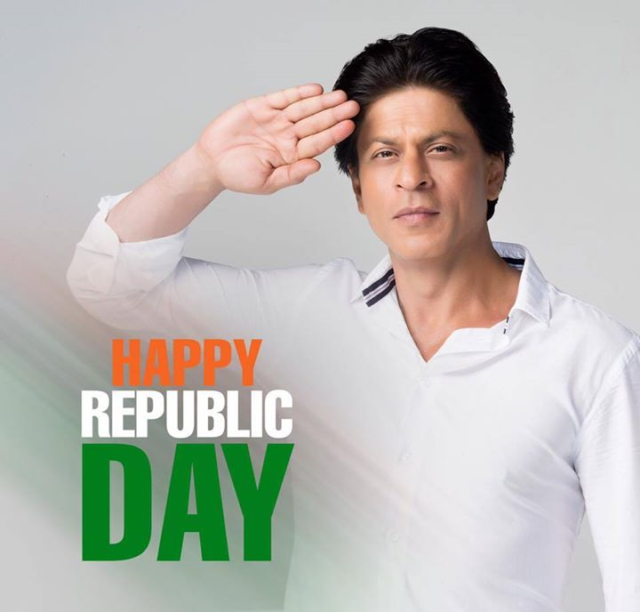 Here's wishing you all a Happy Republic Day!  Pic Credits: Dabboo Ratnani Photography