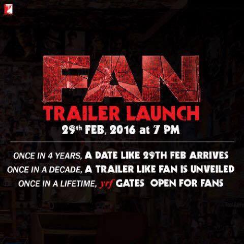 Ok so haven't seen the FAN trailer or venue myself. Excited to see you all and the trailer!!!