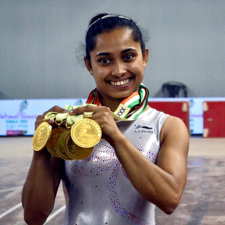 Finally our own Nadia Comaneci. Dipa Karmakar you are the pride of our Nation. Your achievements inspire us. Thanks lil one.