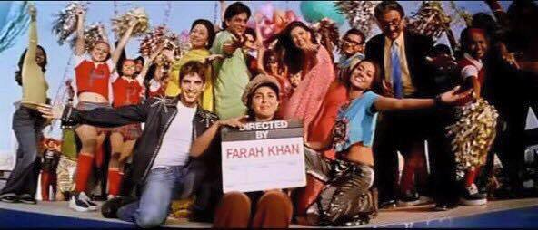 Miss this film. And so many others for the hug for MHN. Boman Shirish Harry Keiten Binduji Rakhi Kabir Naseer Kiran & the spitting Satish. Thanks Farah Khan.