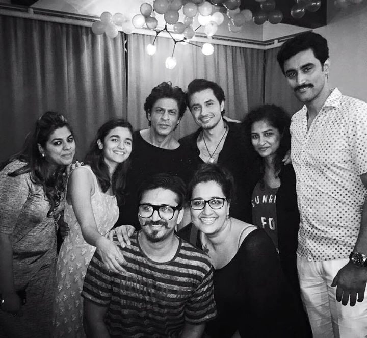 Thank you Dear Zindagi. Had a wonderful evening with the whole team finally.