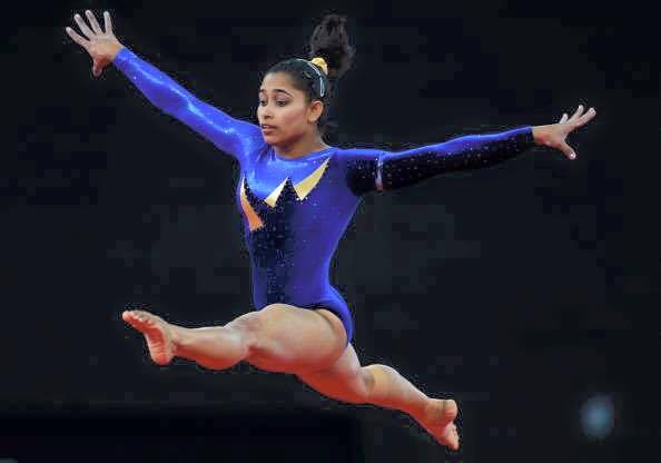 #DipaKarmakar You make us believe we can fly & your smile is even more inspiring. You are a true champion. Thank you.