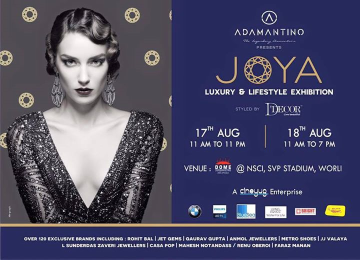 The Joya exhibition starts tomorrow! All the best Cineyug... Everybody do try and make it... On the 17th & 18th at Dome, NSCI.