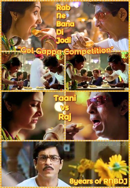 Memories RNBDJ. Adi, Anushka Sharma, Vaibhavi Merchant, all the lovely ladies & the crew but the Golgappas I cannot forget!