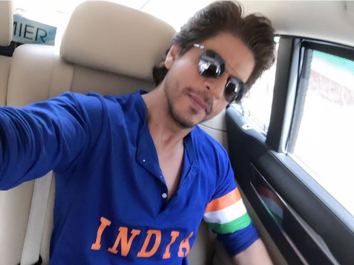 All spruced up 2 cheer for CT17 Finals. Also excited to present the MiniTrails to the world #JabHarryMetSejal