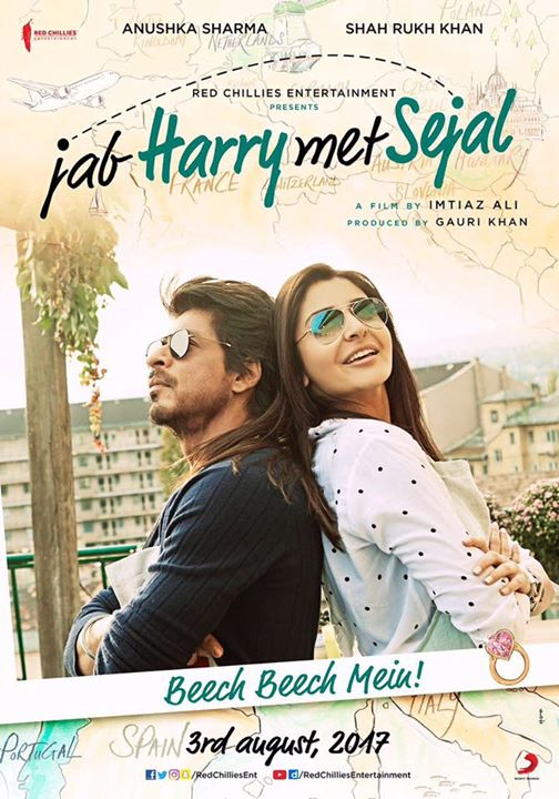 Enjoy Jab Harry Met Sejal in theatres in UAE-GCC, 3rd August onwards!  Anushka Sharma Imtiaz Ali Red Chillies Entertainment Sony Music India