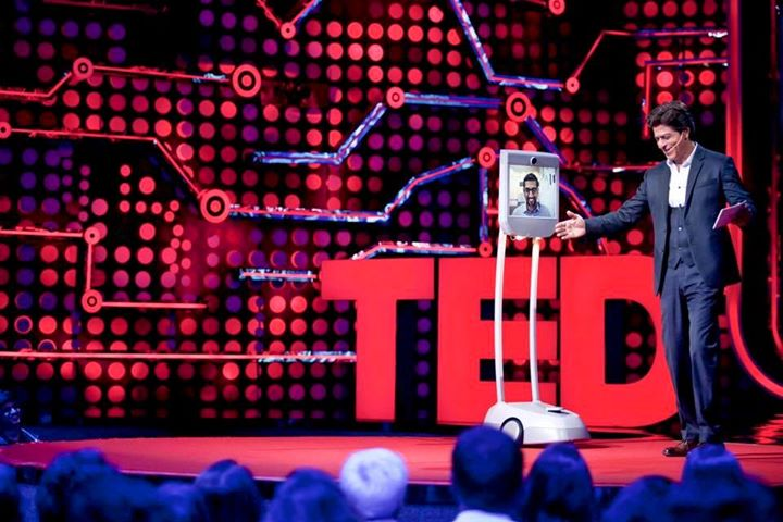 One of my favouritest ppl in the world.The very funny innovator boss man Sundar Pichai graces TED Talks India . Thanks man. #TEDTalksIndiaNayiSoch