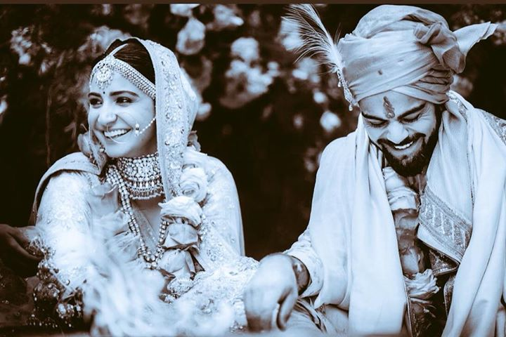 Ab yeh hui na real Rab Ne Bana Di Jodi. My love to both Anushka Sharma & Virat Kohli May God bless u with happiness & health
