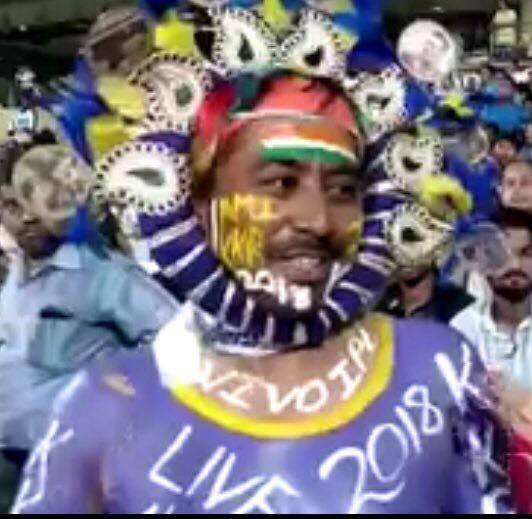 Thank you Kolkata Fans for always being there. You are the best of the best in IPL. Last home game in the league sorry wasn't there. #KKRHaiTaiyaar  Kolkata Knight Riders