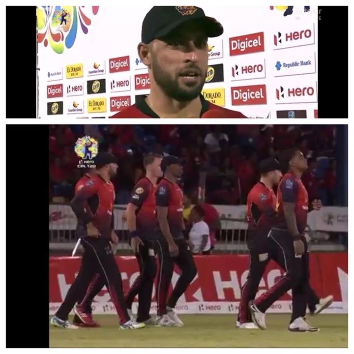 Thank u all for the support in Trinidad & Tobago. Missing the action music and madness in the stadium. Well played boys...& Chris Lynn  hav a safe flt home. Trinbago Knight Riders keep playing how u play!