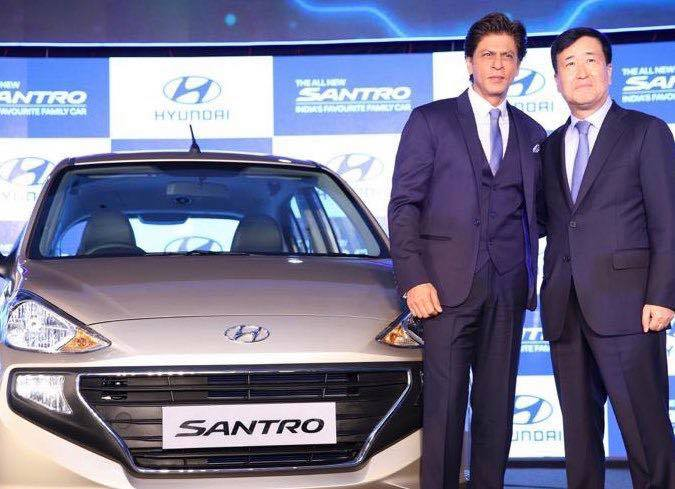 Thank you Hyundai India for the wonderful relationship we've shared over these 20 years. I am inspired by the Technology and Innovation Hyundai has brought to India. Proud to be here at the launch of the #AllNewSANTRO.