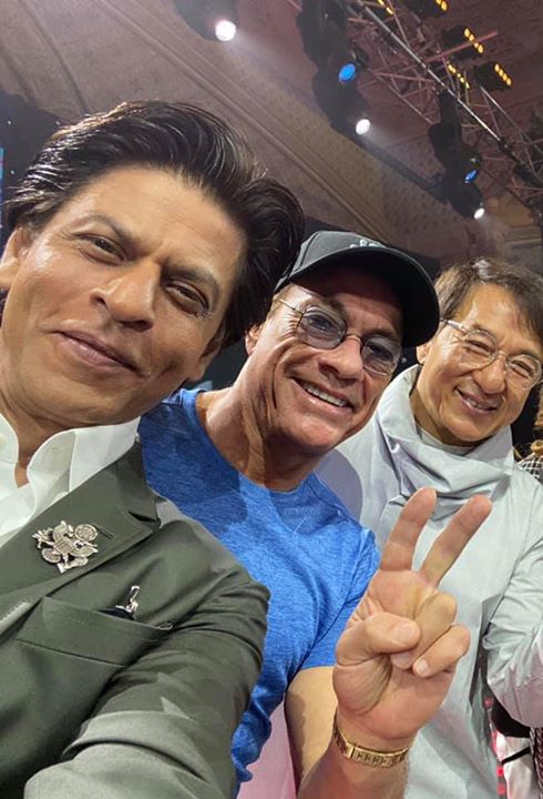 Khan, Damme, Chan at the #JoyForum19. The joys all mine as I got to meet my heroes. Jean-Claude Van Damme 成龍 Jackie Chan Joy Forum