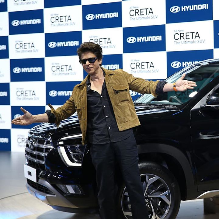 The Future of Mobility is electrifying and promising with what Hyundai has to offer! Thank you Hyundai India for having me at the #AutoExpo2020 to unveil the Ultimate SUV, the #AllNewCRETA.