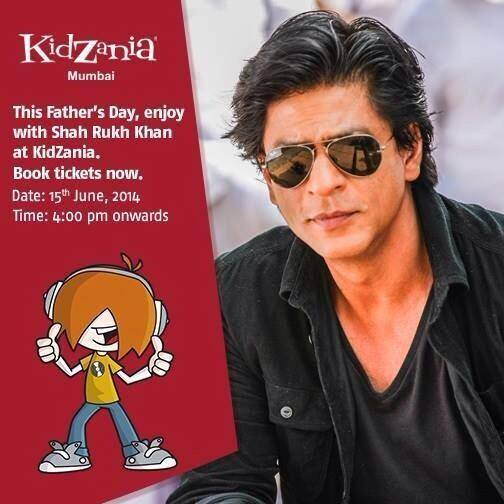 And the afternoon with #Kidz from all over at KidZania Mumbai, my favourite venture… Come & join me for Fathers Day!
