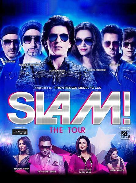 SEDUCE u... LOVE u... AMAZE u... go MAD with u! #SLAM The Tour from the Happy New Year Team.   USA & Canada Slammed in SEPT... 19th Houston, 20th New Jersey, 21st Toronto, 26th Chicago, 27th Vancouver, 28th San Jose.
