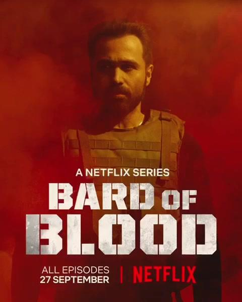 27th September, get ready for the action-packed series #BardOfBlood on Netflix!   Red Chillies Entertainment Emraan Hashmi Gaurav Verma Bilal Siddiqi #RibhuDasgupta
