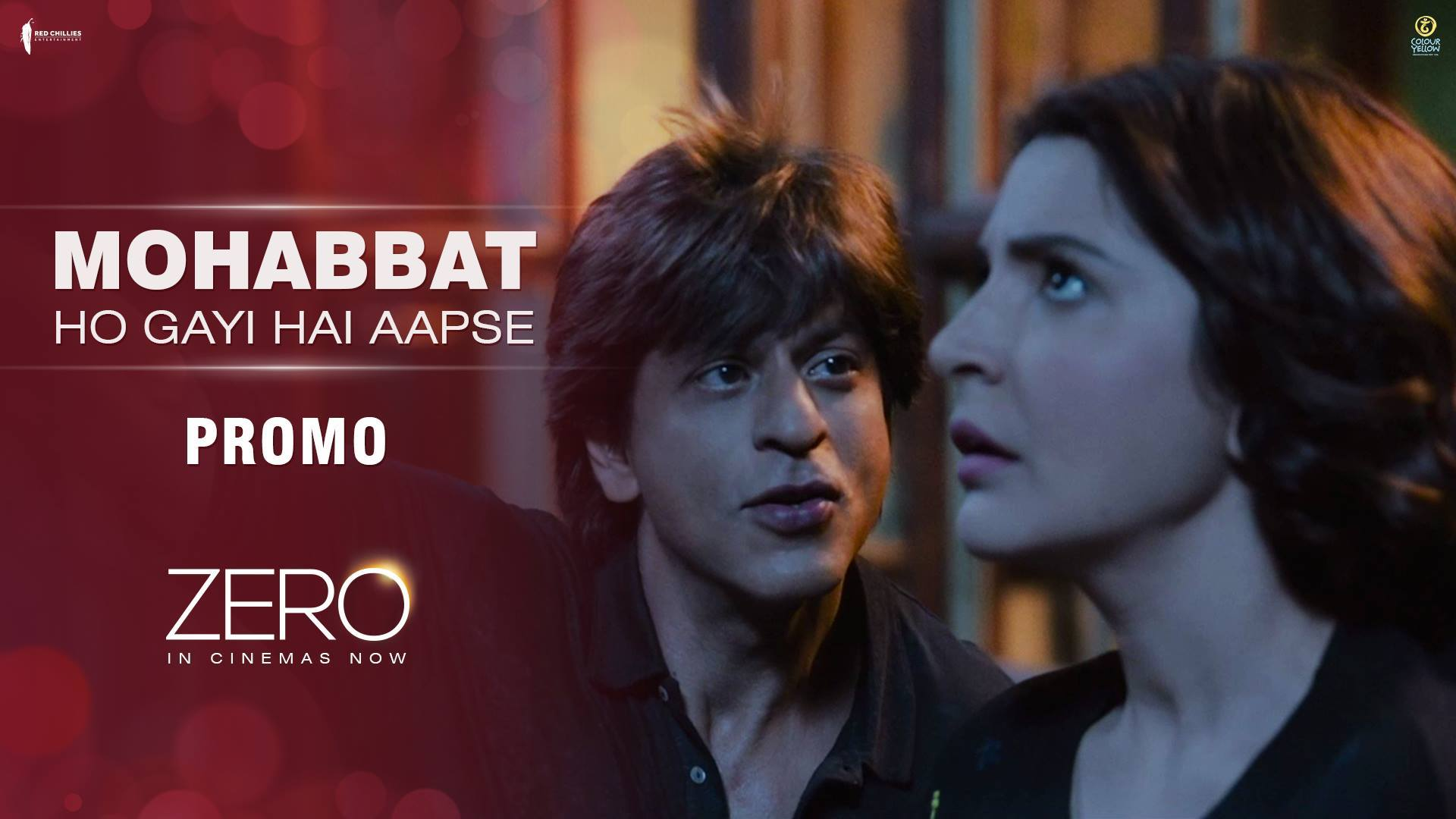 Pyaar mein taare tod leta hai, zara chaand ko sambhaal ke rakhna! Feel the magic of love this Christmas! #ChristmasWithZero  Anushka Sharma Katrina Kaif Aanand L Rai Colour Yellow Productions