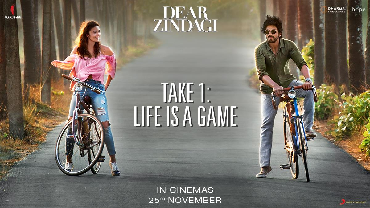 And so it begins. The sweet journey of life... Here you go, Alia .   #DearZindagiTake1