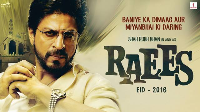 'Baniye ka dimaag aur Miyanbhai ki daring'! The wait is finally over! Watch #RaeesTeaser! Coming Eid 2016.