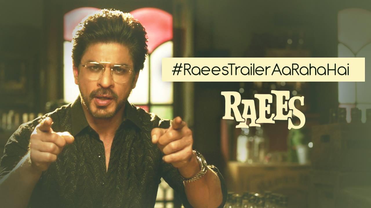 #RaeesTrailerAaRahaHai… but before that we've got some news for you. Dhyaan se suno!