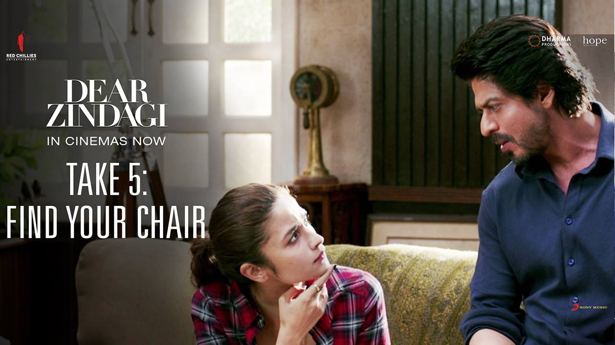 Comfort or love, there's just never a right one! Find your chair...  #DearZindagiTake5