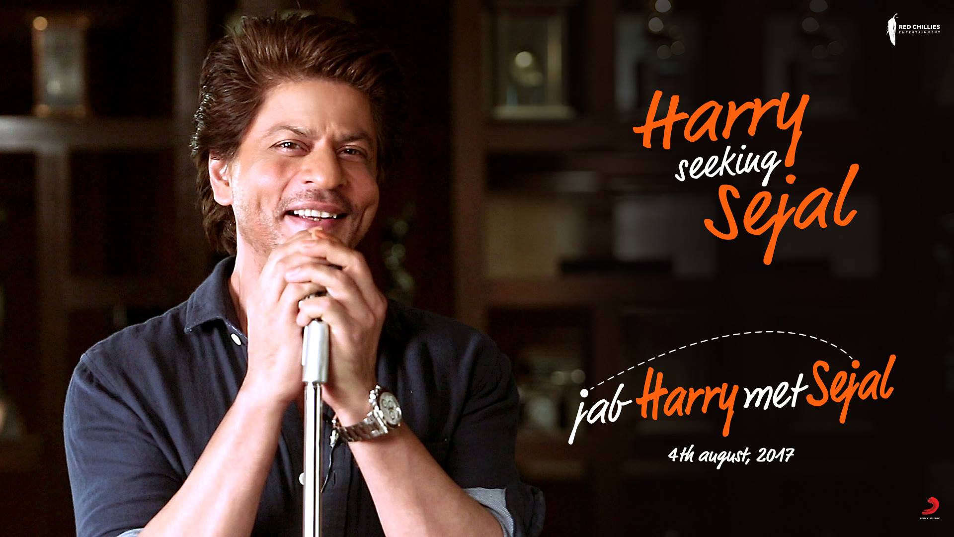 Kithe hai kudi... Kithe hai meri Sejal? Aa raha hun dil waapas lene. Let me know your city:  http://www.redchillies.com/sejal/   #HarrySeekingSejal  Red Chillies Entertainment