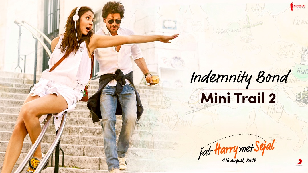 Ab mujhe darne ki zaroorat nahi! Ye Indemnity Bond hai na!   Anushka Sharma Red Chillies Entertainment #JHMSMiniTrail2