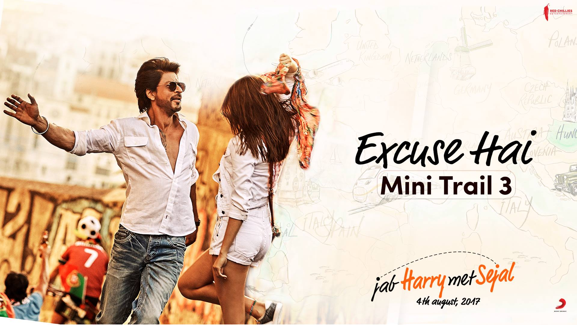Excuse yeh hai ki main character hu… A1!  Anushka Sharma Imtiaz Ali Red Chillies Entertainment   #JHMSMiniTrail3
