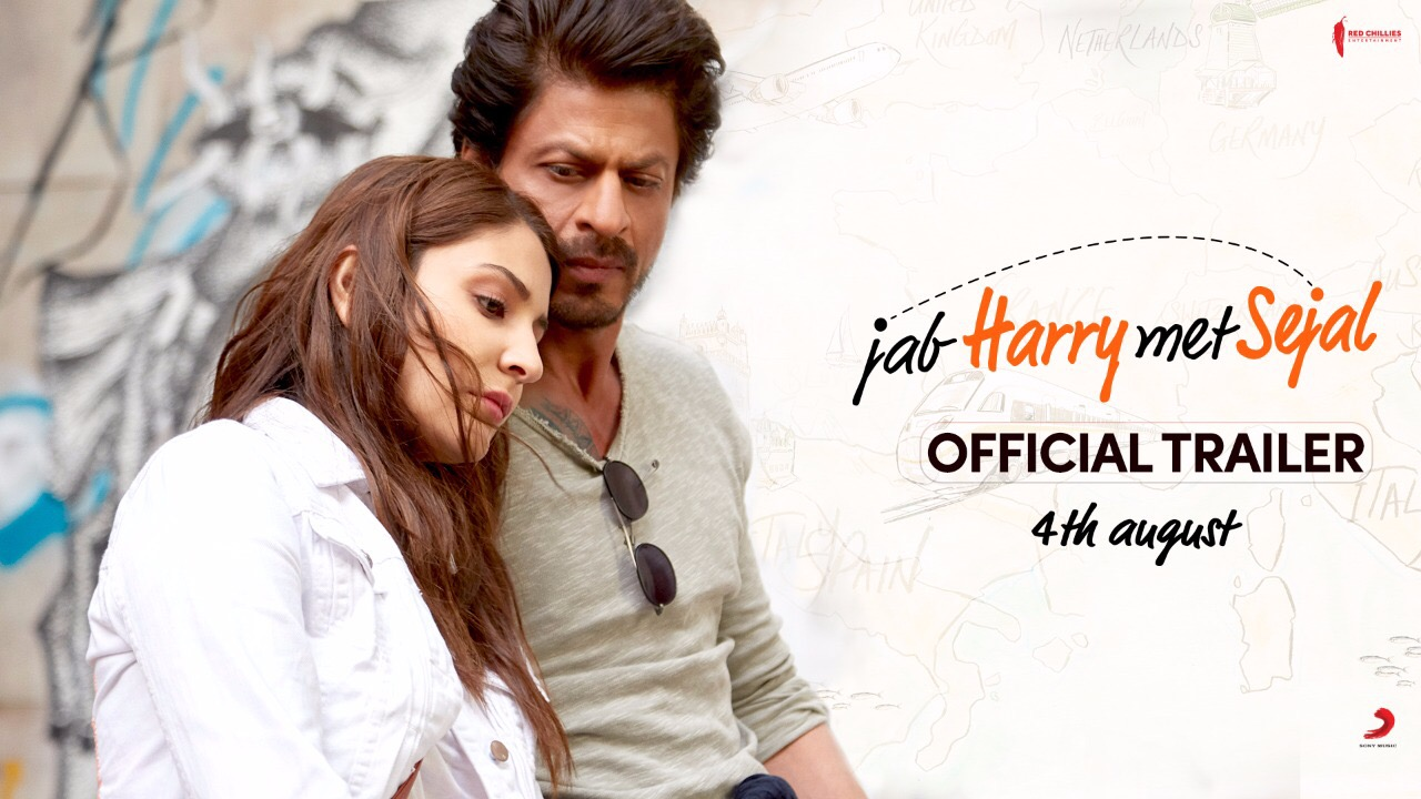 The #JHMStrailer for all those asking, questioning & waiting for it!! Thanks for ur patience! See you in Theaters on 4th Aug!  Anushka Sharma Imtiaz Ali Pritam Red Chillies Entertainment Sony Music India
