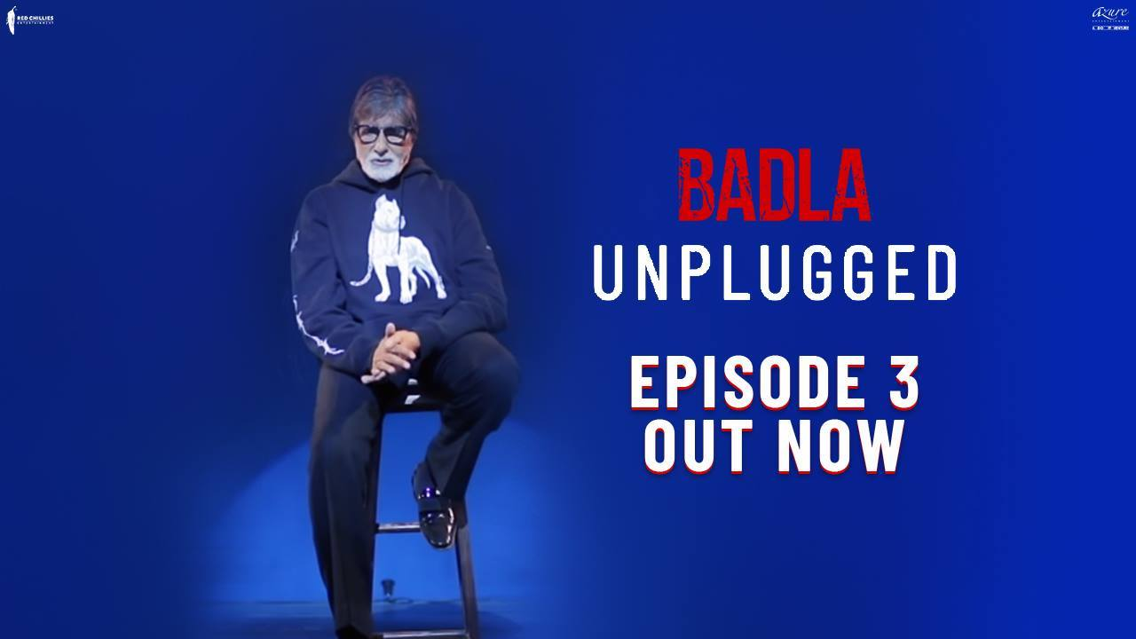 Thank you for giving #Badla a warm welcome! Here's a parting gift as we say goodbye to the series! Amitabh Bachchan Red Chillies Entertainment Azure Entertainment