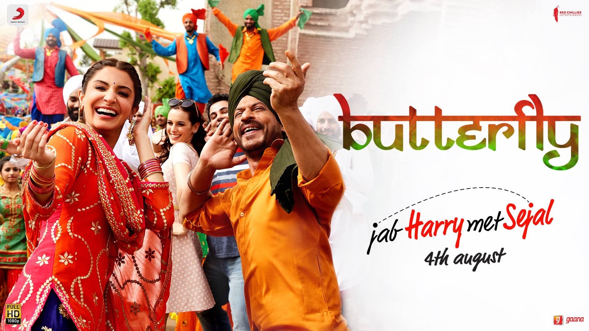 Watch #Butterfly from Jab Harry Met Sejal!  Anushka Sharma Imtiaz Ali Red Chillies Entertainment Sony Music India Pritam