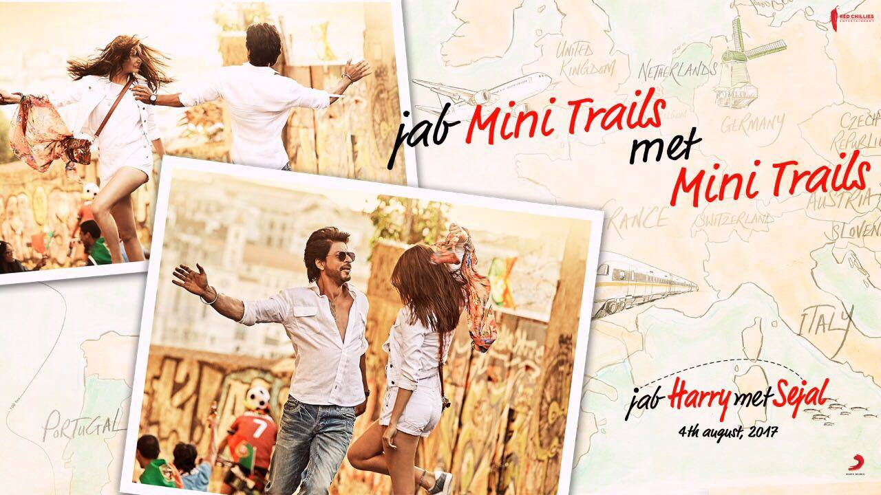 You don't need to look far away for what you seek! It's right here altogether, Jab #MiniTrails Met MiniTrails.  Anushka Sharma Imtiaz Ali Red Chillies Entertainment