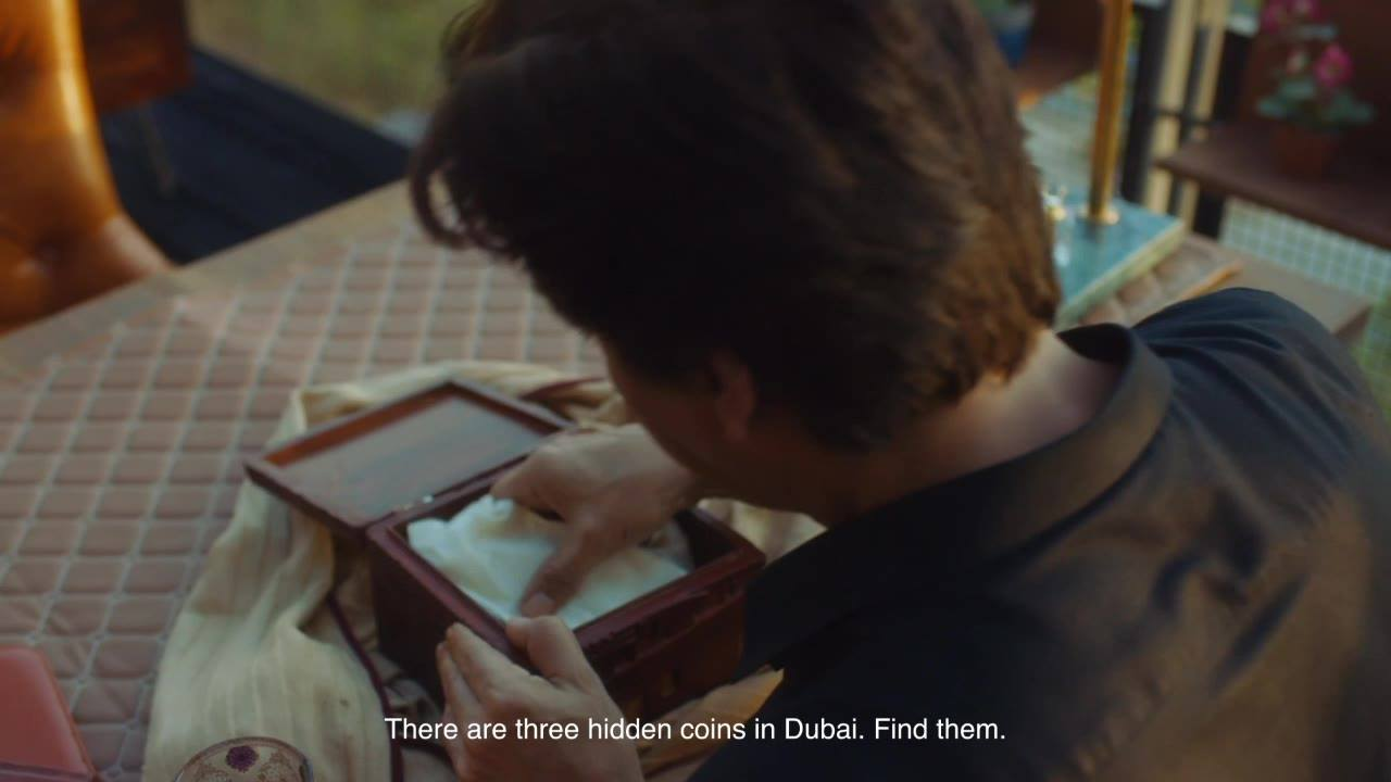 Three coins, one old box and tons of clues to solve. Wonder what my next challenge will be?   Catch the action and find out more on https://www.visitdubai.com/en/discover/shah-rukh-khan-in-dubai #BeMyGuest