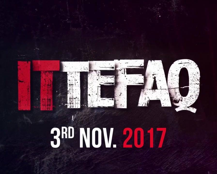 100 mins of sheer thrill and suspense... #Ittefaq  in theatres 3rd Nov onwards! Red Chillies Entertainment Dharma Productions BR Studios