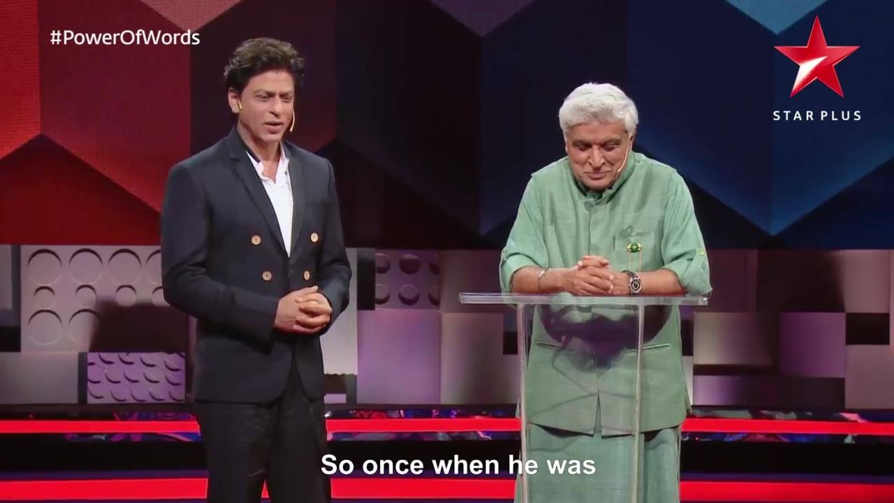 Tonight at 7pm on #TEDTalksIndiaNayiSoch, kuch kuch hota hai with the #PowerOfWords. STAR Plus #TED