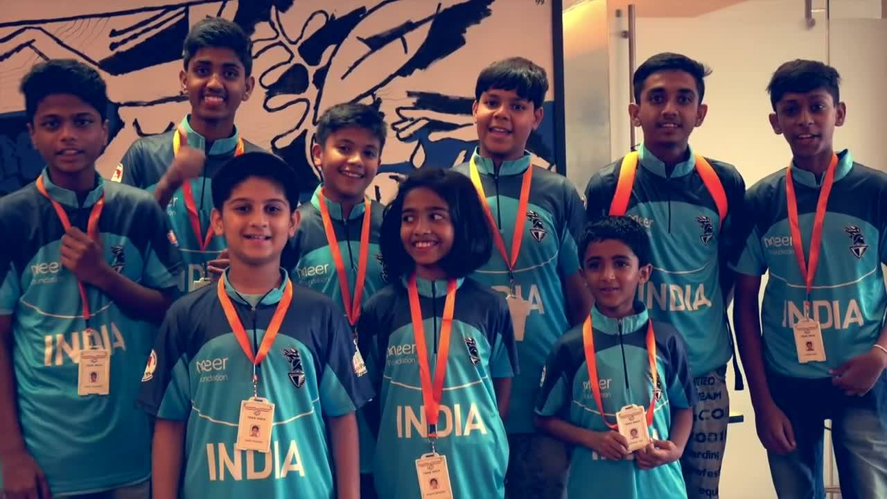 Shine on my young Knights! 22 medals at the World Children's Winners Games in Moscow! Amazed. Love to all of u and continue to make India proud... Meer Foundation Kolkata Knight Riders